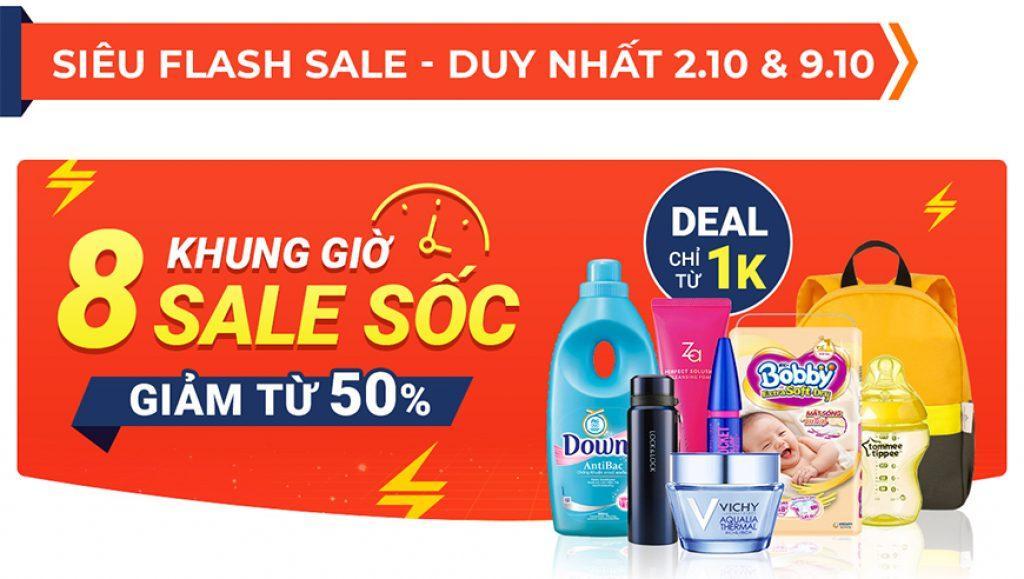 flash sale shopee 10.10